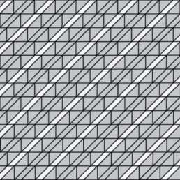 схема замощення Бруківки Трикутник